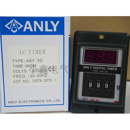 Rơle thời gian 999m ANLY ASY-3D