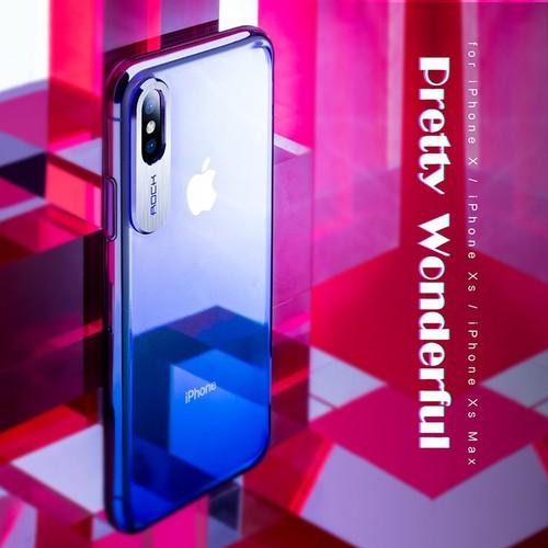 ỐP LƯNG IPHONE XS MAX ROCK ĐỔI MÀU CHÍNH HÃNG