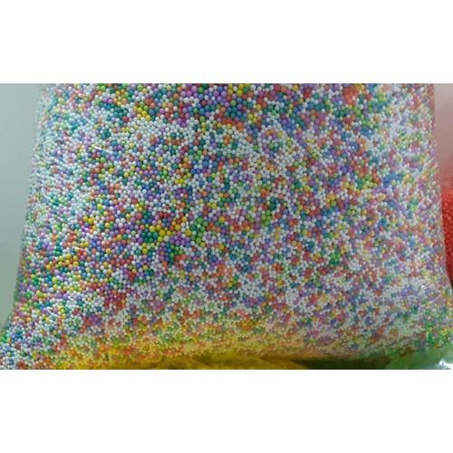 500gr hạt xốp trộn nhiều màu 150k