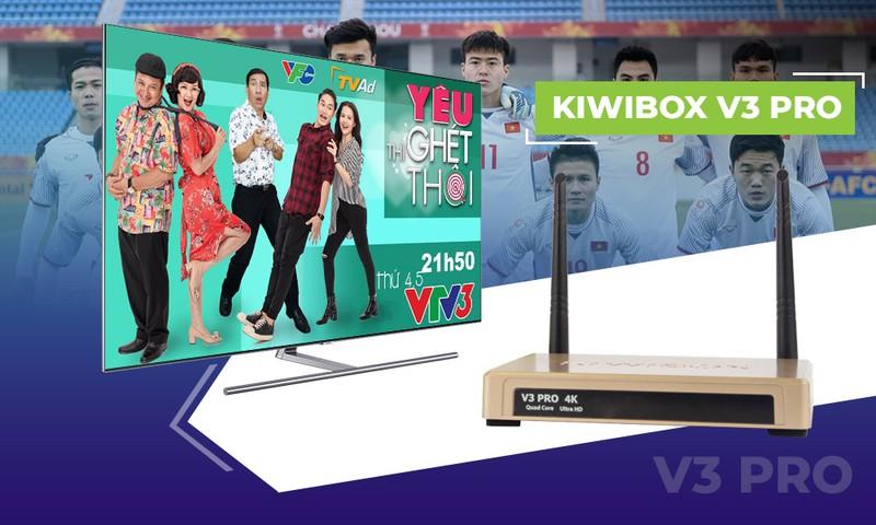 Android tivi box kiwibox V3 pro Ram 2G 3