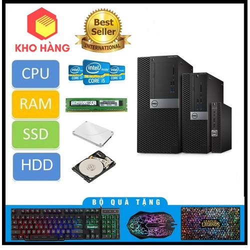 Dell 3040 SFF I3 6100,Ram 12GB,SSD 240GB,HDD 2TB