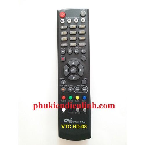 ĐIỀU KHIỂN ĐẦU VTC-HD 08