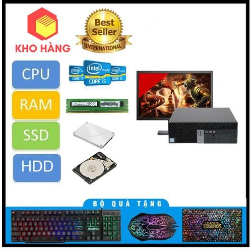 Dell 3040 SFF I3 6100,Ram 8GB,SSD 120GB,HDD 2TB
