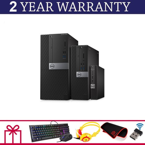 Dell 3040 SFF I7 6700, Ram 12GB, SSD 240GB, HDD 2TB