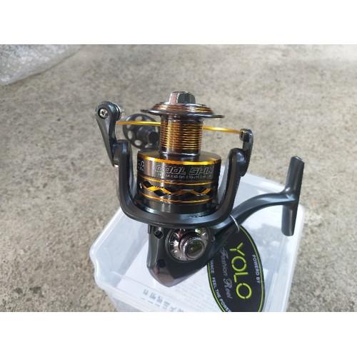 Máy câu cá Yolo Cool Spin 6000 cối kim loại