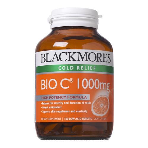 Viên uống bổ sung Vitamin C Blackmores Bio C 1000mg 150 viên nang