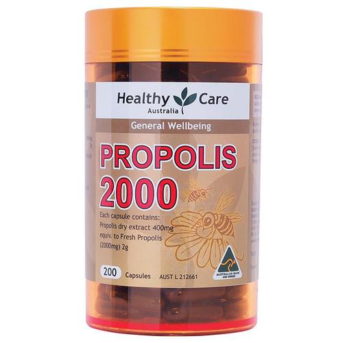 Keo ong tăng cường hệ miễn dịch cho cơ thể Healthy Care Propolis