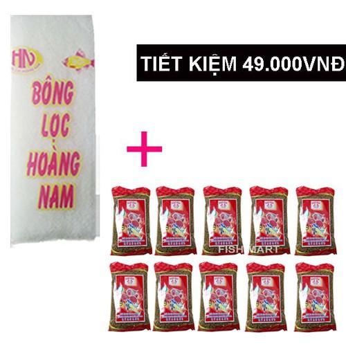 Combo Bông Lọc Bể Cá 30x13 cm + 10 gói thức ăn KAOKUI cá kiểng - 6238767 , 12806016 , 15_12806016 , 181666 , Combo-Bong-Loc-Be-Ca-30x13-cm-10-goi-thuc-an-KAOKUI-ca-kieng-15_12806016 , sendo.vn , Combo Bông Lọc Bể Cá 30x13 cm + 10 gói thức ăn KAOKUI cá kiểng
