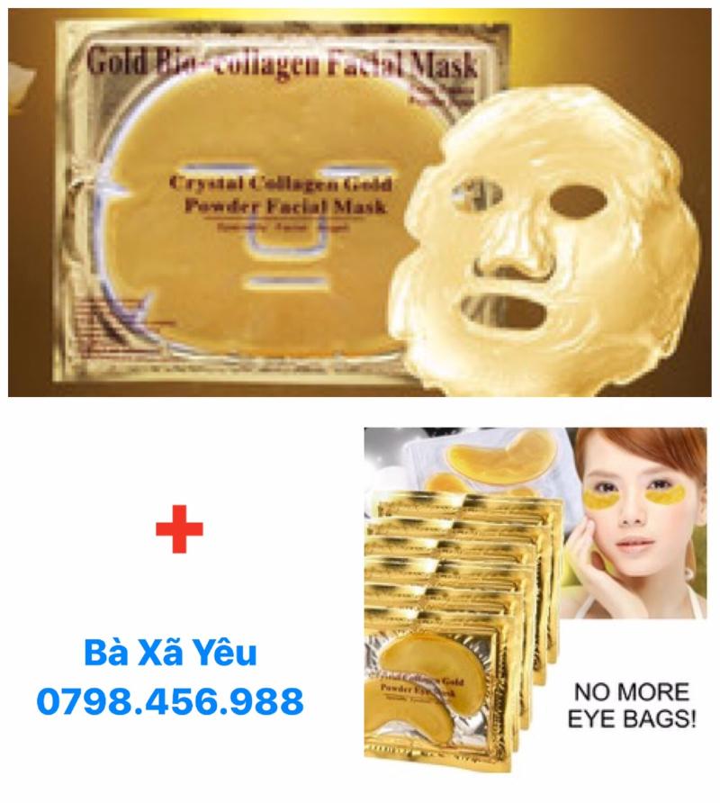 Combo 5 mặt nạ Nano Collagen + 5 Mặt nạ mắt