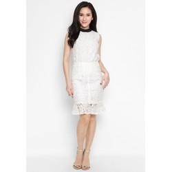 De Leah - Chân Váy Ôm Ren Đuôi Cá - Thời trang thiết kế