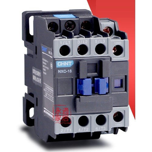 Contactor CHINT 3P 18A NXC-18