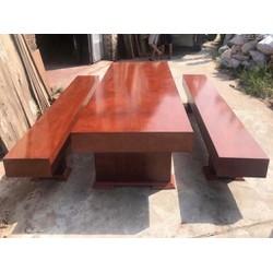 Bộ bàn ghế ăn K3 gỗ xoan đào