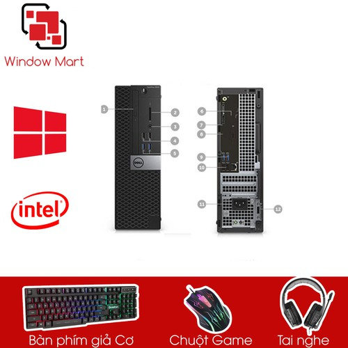 Dell 3040 SFF I3 6100- Ram 12GB- HDD500GB