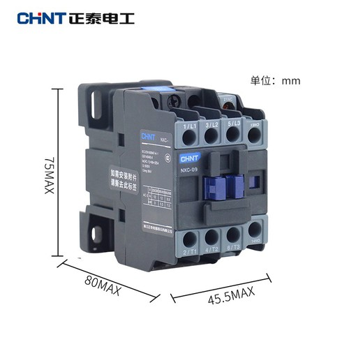 Contactor CHINT 3P 9A NXC-09