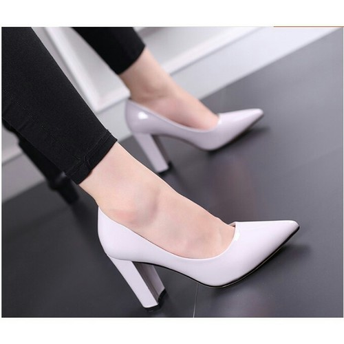 Giày cao gót bít mũi đế vuông OS14 - 6245963 , 12815599 , 15_12815599 , 250000 , Giay-cao-got-bit-mui-de-vuong-OS14-15_12815599 , sendo.vn , Giày cao gót bít mũi đế vuông OS14
