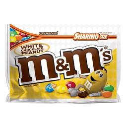 Kẹo m and m White Chocolate Peanut Sharing Size, 272.2g