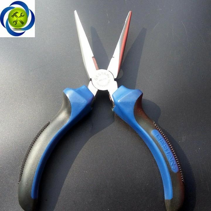 Kềm mỏ nhọn xanh đen Gestar 995-116 160mm 3