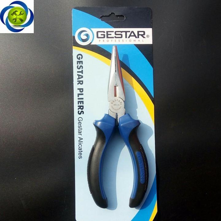 Kềm mỏ nhọn xanh đen Gestar 995-116 160mm 2