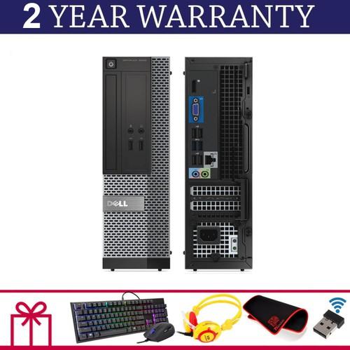 PC Dell Optiplex 3020 SFF, i3 4160, R 4GB, SSD120GB, GTX 1050ti 4GB