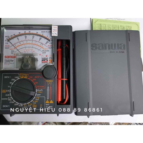 Đồng hồ đo vạn năng kim cơ Sanwa YX360TRF cao cấp - 6250282 , 12821143 , 15_12821143 , 800000 , Dong-ho-do-van-nang-kim-co-Sanwa-YX360TRF-cao-cap-15_12821143 , sendo.vn , Đồng hồ đo vạn năng kim cơ Sanwa YX360TRF cao cấp