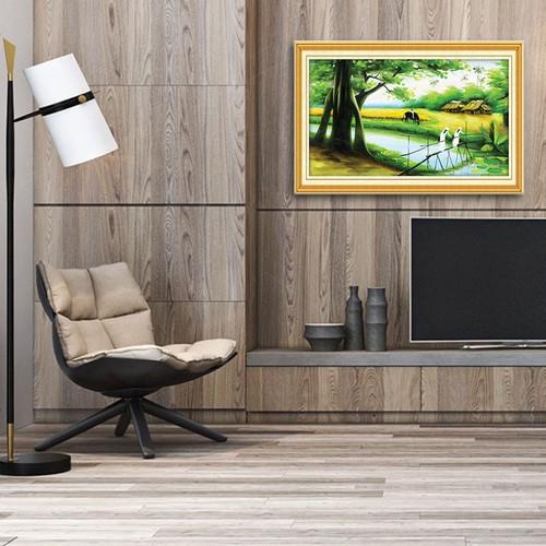 Hot: Tranh treo tường cảnh đồng quê- W984 50x75cm