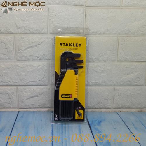 Bộ chìa vặn lục giác bi Stanley 69-256 9 chi tiết