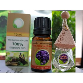 2 chai tinh dầu Oải Hương nguyên chất hương thơm nhẹ nhàng - TD_oaihuonglo_10ml