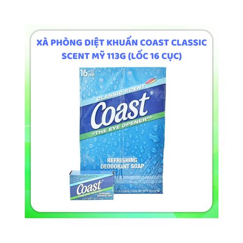 Combo 6 xà phòng diệt khuẩn coast|xa phong coast xuất xứ Mỹ 113g