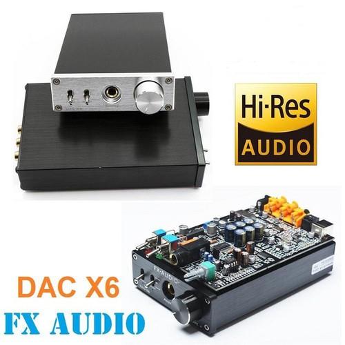 DAC FX-AUDIO X6 Bộ giải mã âm thanh chất lượng cao