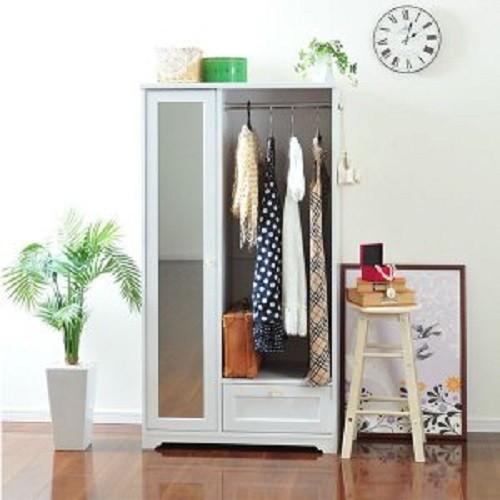 Tủ quần áo 9288174- Anri japan- Màu Trắng