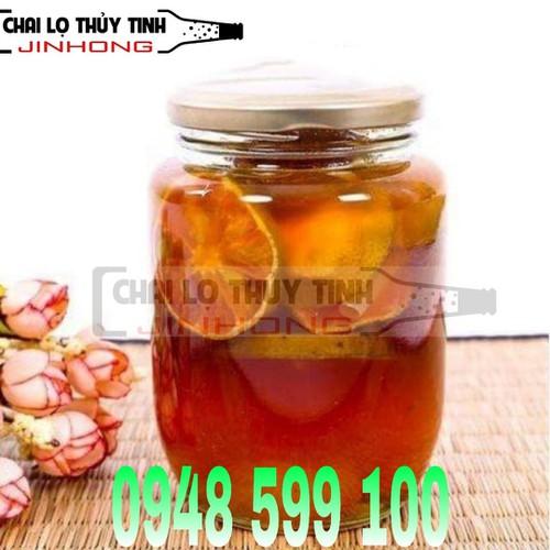 COMBO 10 HŨ THỦY TINH TRÒN CAO 380ML