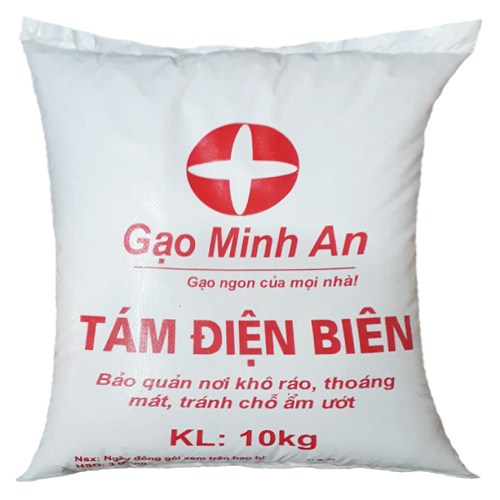 Gạo tám điện biên Minh An túi 10kg