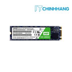 Ổ Cứng SSD WD G2 240GB Chuẩn M.2 2280 Green - Hàng Chính Hãng - SSD WD 240G GREEN M2