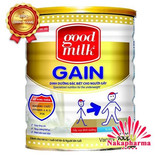 ✅ [CHÍNH HÃNG] Sữa tăng cân Goodmilk Gain 900g – Dinh dưỡng dành cho người gầy, suy dinh dưỡng