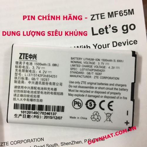Pin Bộ Phát Wifi ZTE MF65