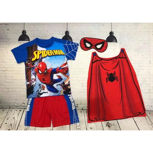 Bộ đồ siêu nhân người nhện  Spider Man kèm áo choàng và mặt nạ cho bé trai - 6267882 , 12846953 , 15_12846953 , 170000 , Bo-do-sieu-nhan-nguoi-nhen-Spider-Man-kem-ao-choang-va-mat-na-cho-be-trai-15_12846953 , sendo.vn , Bộ đồ siêu nhân người nhện  Spider Man kèm áo choàng và mặt nạ cho bé trai