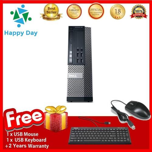 PC DELL OPTIPLEX 990 SFF , I7.2600 , R 8GB , SSD120GB , RỜI 2GB