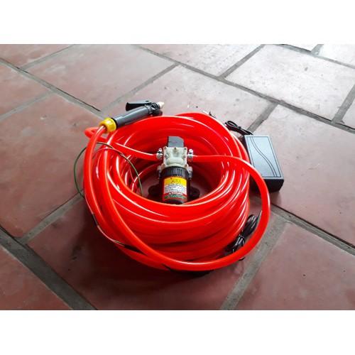 Bộ Máy bơm rửa xe tăng áp lực nước mini 11m dây - 6264405 , 12842407 , 15_12842407 , 395000 , Bo-May-bom-rua-xe-tang-ap-luc-nuoc-mini-11m-day-15_12842407 , sendo.vn , Bộ Máy bơm rửa xe tăng áp lực nước mini 11m dây