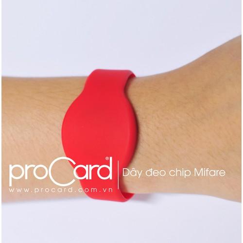 Dây đeo thẻ chip mifare 20 DÂY