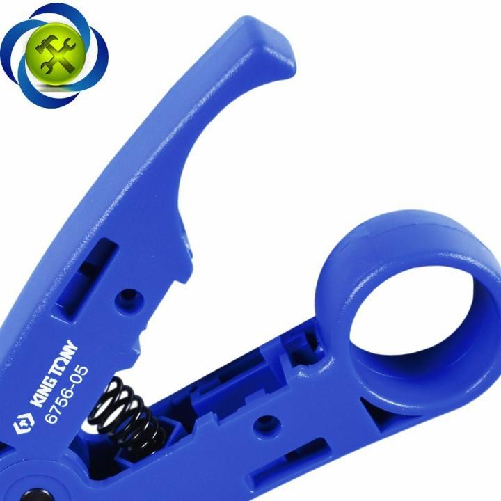 Kềm tuốt vỏ dây điện Kingtony 6756-05 4