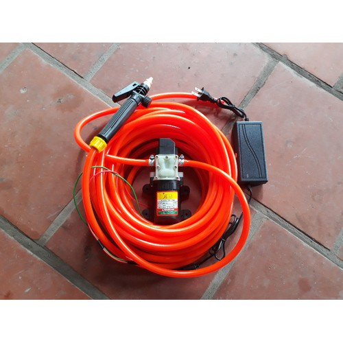 Bộ Máy bơm rửa xe tăng áp lực nước mini 6m dây - 6264057 , 12842176 , 15_12842176 , 345000 , Bo-May-bom-rua-xe-tang-ap-luc-nuoc-mini-6m-day-15_12842176 , sendo.vn , Bộ Máy bơm rửa xe tăng áp lực nước mini 6m dây