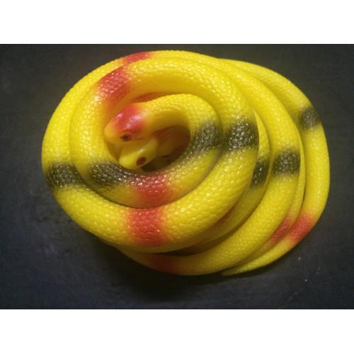Rắn giả nhiều màu đồ chơi con rắn giả nhiều màu
