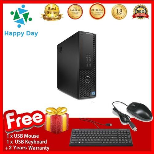 PCDell T1700 SFF , E3.1240 V3 , R32GB , SSD960GB , Quadro K600