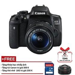 Canon 750D kèm lens 18-55mm STM Hàng phân phối chính thức - Canon750D