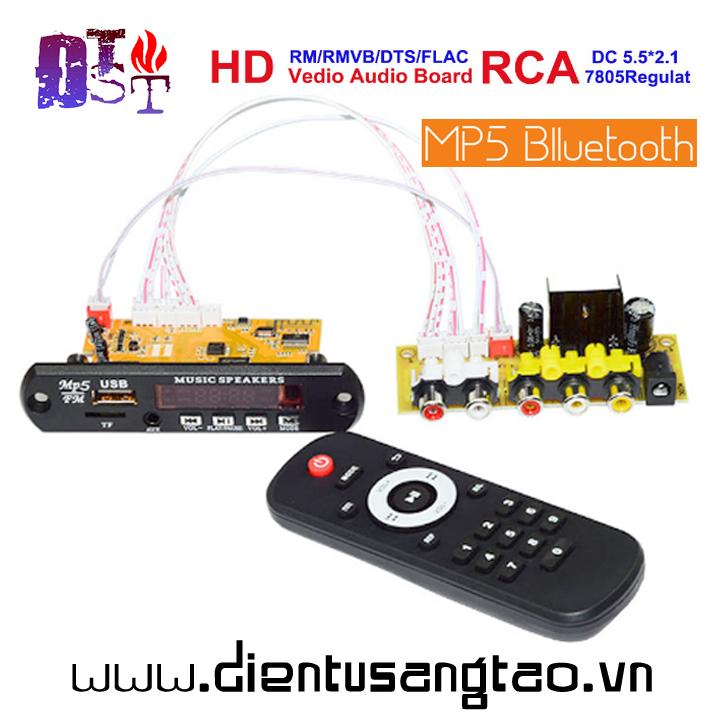 Mạch giải mã âm thanh video TV MP3 MP4  MP5
