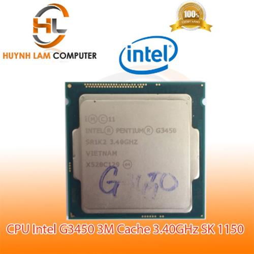 CPU intel G3450 TRAY Cache 3.40GHz SK 1150 Kèm Fan