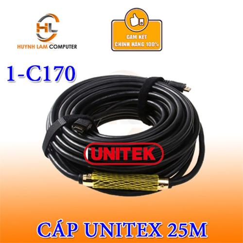 Cáp HDMI to HDMI 25m UNITEX Y-C170 chính hãng