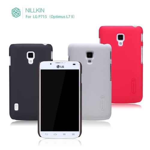 Ốp lưng LG L7 2 hiệu nillkin màu đen