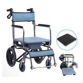 Ghế vệ sinh người già kiêm ghế tắm và xe lăn xếp gọn - KY606LAY thumbnail