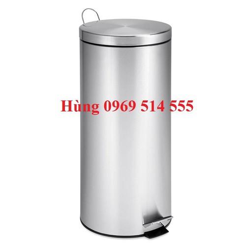 Thùng rác inox đạp chân 20L - 6289730 , 12876240 , 15_12876240 , 500000 , Thung-rac-inox-dap-chan-20L-15_12876240 , sendo.vn , Thùng rác inox đạp chân 20L